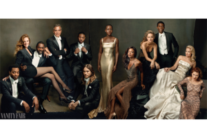 2014 Vanity Fair Hollywood Issue cover, photo by Annie Leibovitz