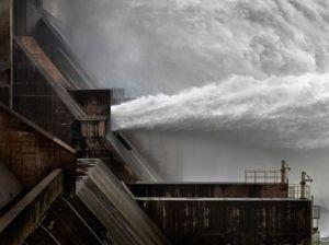 Xiaolangdi Dam #1 Iceland, 2012. Edward Burtynsky
