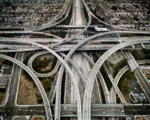 Highway #1 Los Angeles, California, USA, 2003. Edward Burtynsky