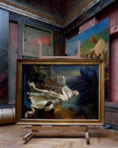 Salles d'Afrique, Portrait of Louis XVI by Callet #2, Chateau de Versailles, 2007 by Robert Polidori