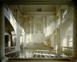 Escalier de L'Aile Gabriel, 1985 by Robert Polidori
