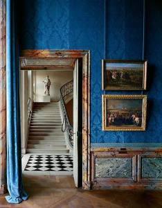 Salle les campagnes militaires et le décor des résidences royale, Aile du Nord – 1er etage, Versailles, 1985 by Robert Polidori