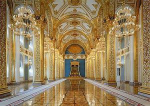 St. Andrew's room, throne chair, Kremlin, Moscow , 2005 by Robert Polidori