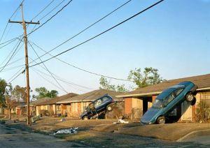 2600 Block of Munster Boulevard, New Orleans, September, 2005 by Robert Polidori